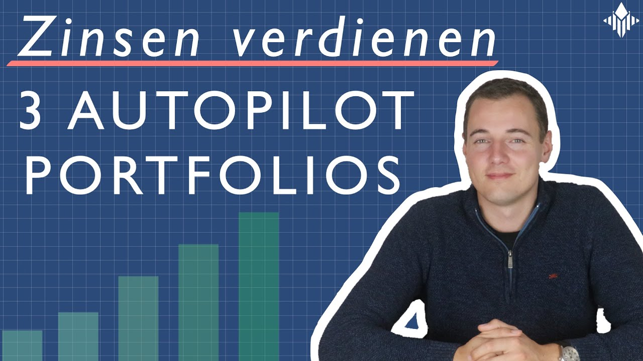 3 Portfolios um auf Autopilot mit P2P-Krediten Geld zu verdienen