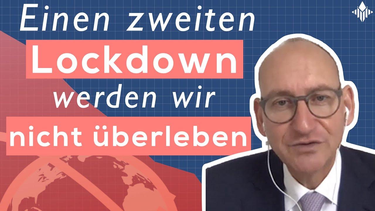 """Interview mit Daniel Stelter """"Corona hat eine kranke Wirtschaft getroffen"""" - Teil 2"""